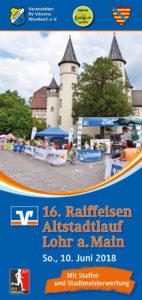 Flyer Altstadtlauf 2018 Titel